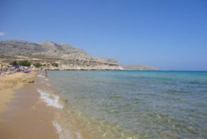 Agia Agathi local beach - Archangelos Rhodes