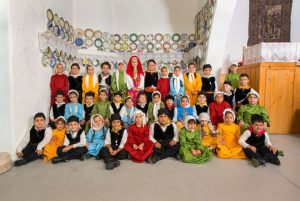 Cultural Event: Summer 2015. Revival of traditional marriage customs of Archangelos village. Performed by the 3rd Kindergarden of Archangelos. Host: traditional house Serafi.