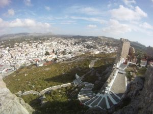 Archangelos Rhodes: view from the Castle